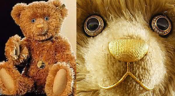 Diamond Teddy Bear entre as bonecas mais caras do mundo