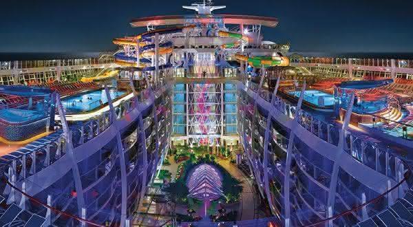Harmony of the Seas 2 entre os navios de cruzeiros mais caros do mundo