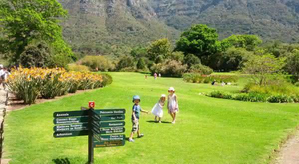 Kirstenbosch entre os jardins mais bonitos do mundo