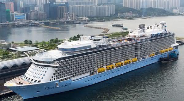 Ovation of the Seas entre os navios de cruzeiros mais caros do mundo