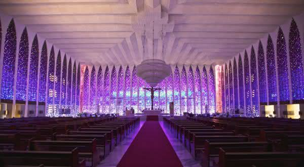 Santuario Dom Bosco entre as coisas para ver e fazer em Brasilia