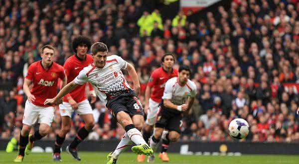 Steven Gerrard entre os melhores cobradores de penaltis de todos os tempos