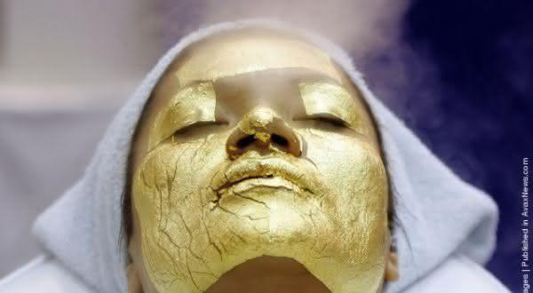 UMO 24-Carat Gold Facial entre os tratamentos de beleza facial mais caros do mundo