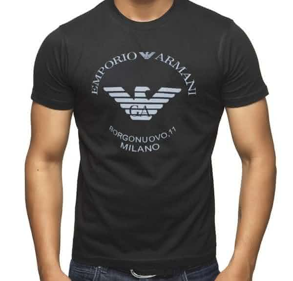 armani entre as marcas de camisetas mais caras do mundo