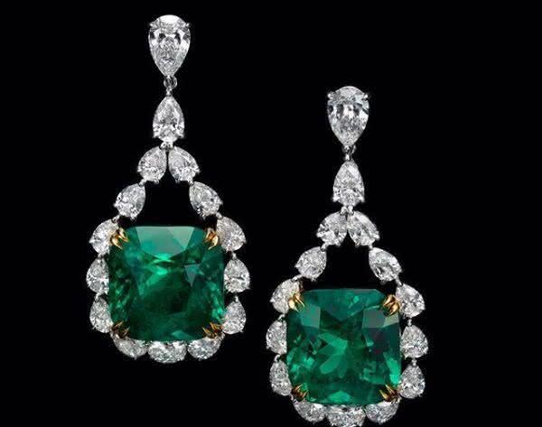 brinco de esmeralda diamante entre os brincos mais caros do mundo