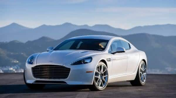 Aston Martin Rapide entre os carros sedan de luxo mais caros do mundo
