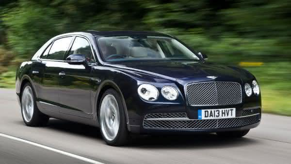 Bentley Flying Spur entre os carros sedan de luxo mais caros do mundo