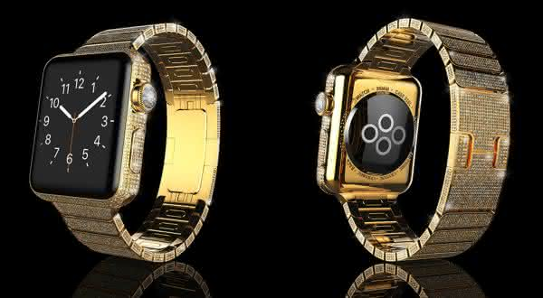 Brikk Lux Watch Omni 18k Gold entre os smartwatches mais caros do mundo