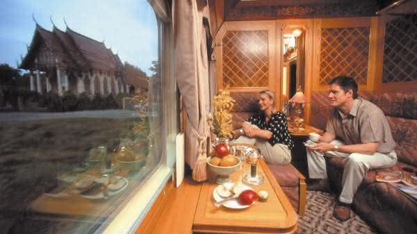 Eastern e Oriental Express 2 entre os trens mais luxuosos do mundo