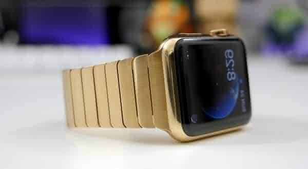 Gold Apple Watch entre os smartwatches mais caros do mundo