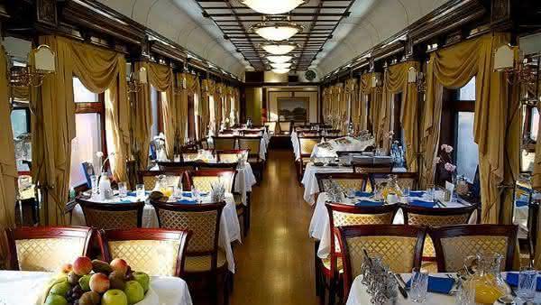 Top 10 trens mais luxuosos do mundo 9