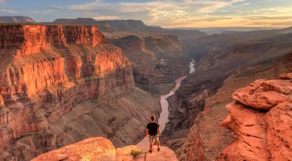 Grand Canyon entre os maiores canions do mundo
