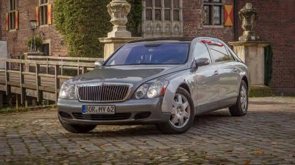 Maybach 62 entre os carros sedan de luxo mais caros do mundo