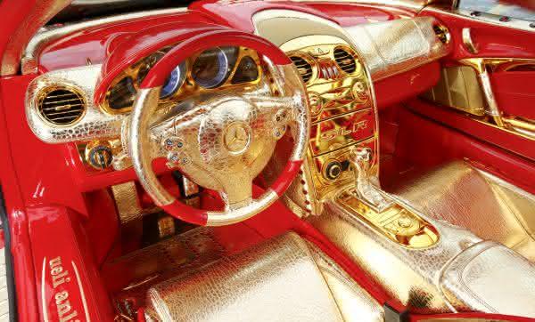 Mercedes-Benz SLR McLaren 999 Red Gold Dream 2011 2 entre os carros da Mercedes Benz mais caros