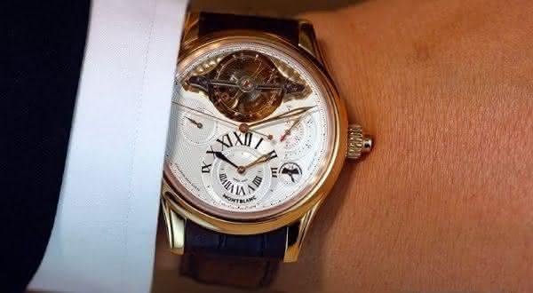 Montblanc Exotourbillon Chronograph entre os relógios Montblanc mais caros de todos os tempos