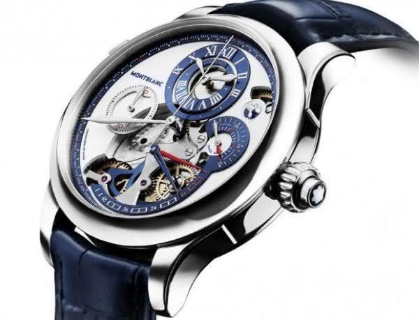 Montblanc Regulateur Nautique Chronograph entre os relogios Montblanc mais caros de todos os tempos
