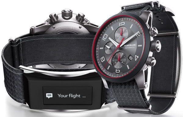 Montblanc Timewalker e-Strap entre os smartwatches mais caros do mundo