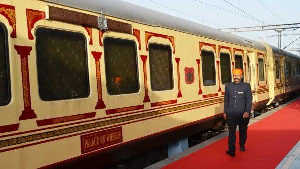 Palace on Wheels 2 entre os trens mais luxuosos do mundo