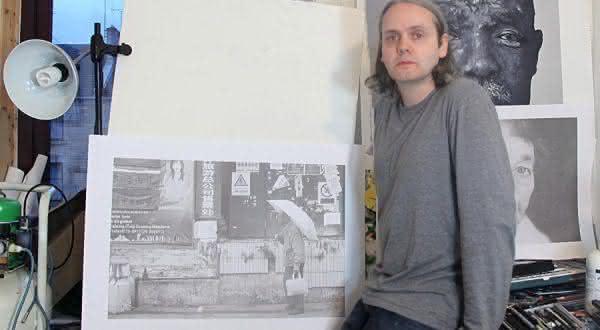 Paul Cadden entre os melhores pintores do mundo atualmente