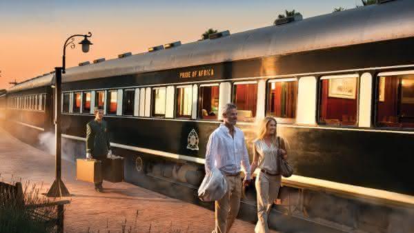 Pride of Africa 2 entre os trens mais luxuosos do mundo