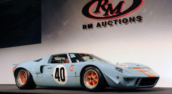 Rare Ford GT40 entre os carros da FORD mais caros do mundo