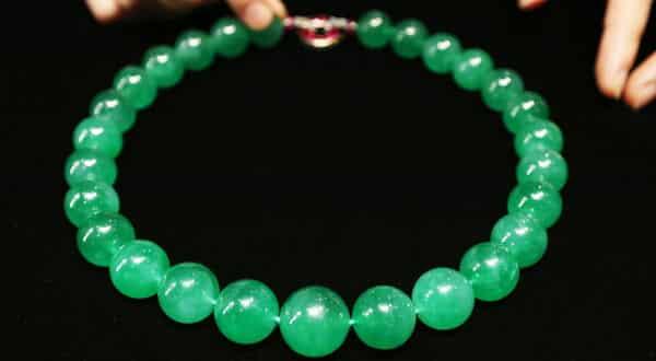 The Hutton-Mdivani Jadeite Necklace entre as joias mais caras do mundo