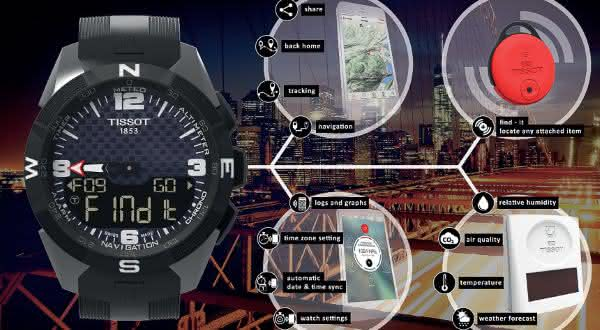 Tissot Smart-Touch entre os smartwatches mais caros do mundo