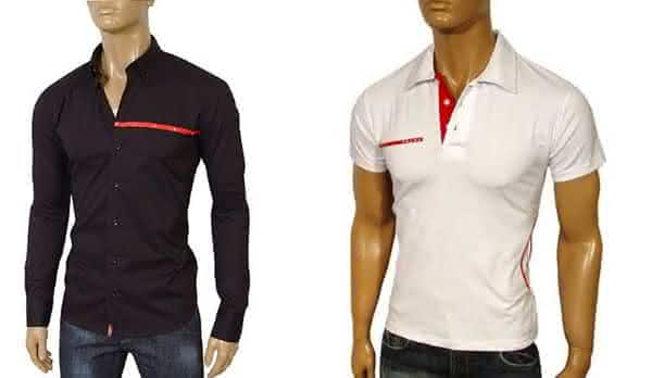 fb95a2051 prada entre as marcas de camisas masculinas mais vendidas do mundo