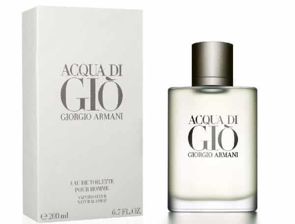 Acqua di Gio Giorgio Armani entre os melhores perfumes importados masculinos