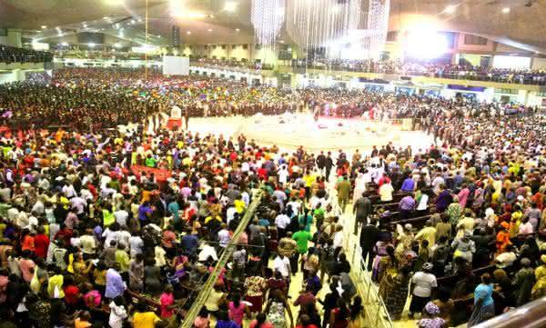 Living Faith Church a maior igreja da africa
