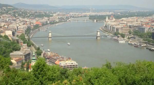 Rio Danubio entre os rios mais profundos do mundo