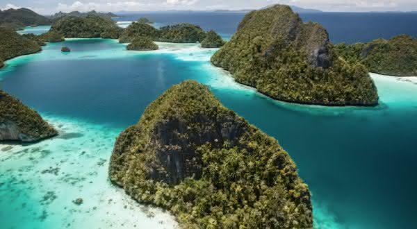 indonesia entre os paises com mais ilhas do mundo