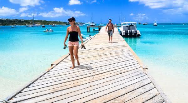 Anguilla entre os países mais dependentes do turismo