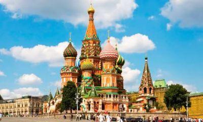 Catedral de Sao Basilio entre as igrejas mais famosas do mundo