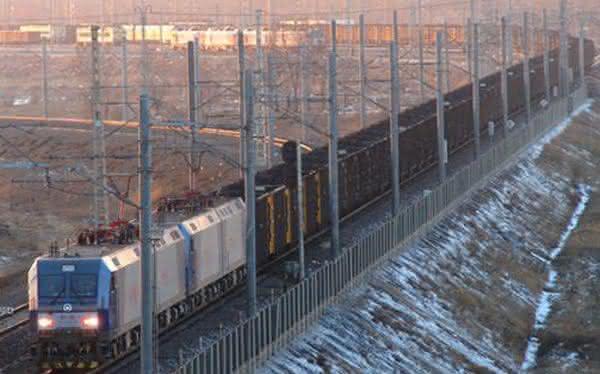 Daqin Railway entre os trens mais longos do mundo