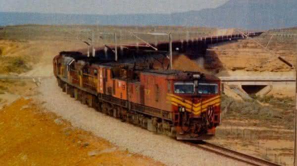 Top 10 trens mais longos do mundo 1