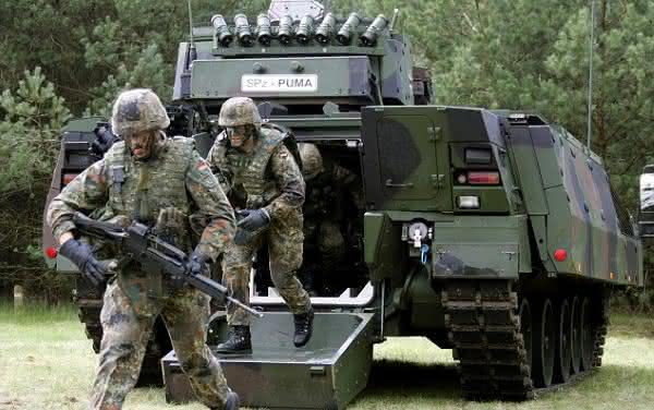 alemanha entre as maiores potencias militares do mundo