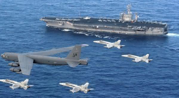 estados unidos entre as maiores potencias militares do mundo