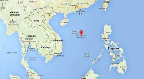 mar da china meridional entre os maiores mares do mundo