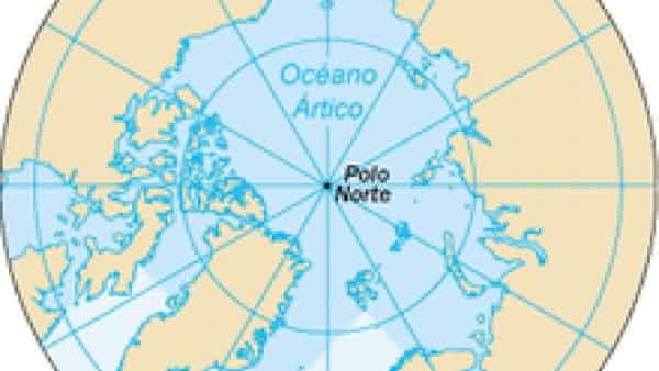 oceano artico entre os maiores oceanos do mundo