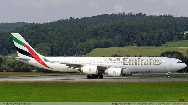 Airbus A340 500 entre os avioes de passageiros comerciais mais rapidos do mundo