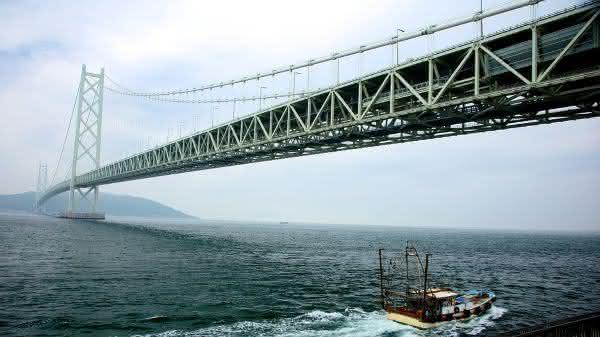 Akashi Kaikyo entre as pontes mais famosas do mundo