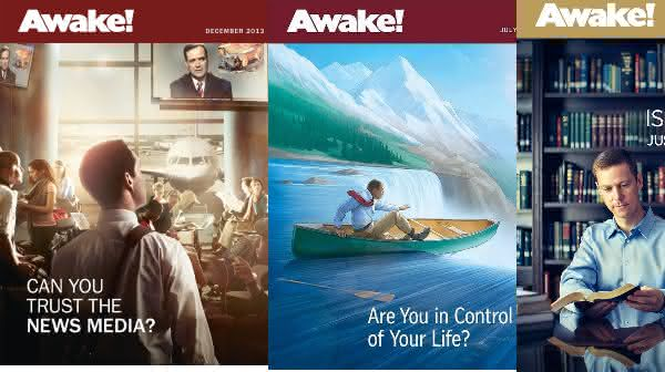 Awake entre as revistas mais vendidas do mundo
