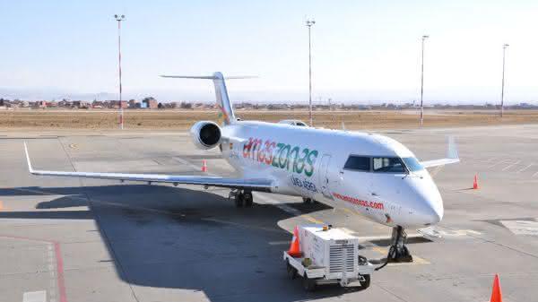 Bombardier CRJ entre os avioes de passageiros comerciais mais rapidos do mundo