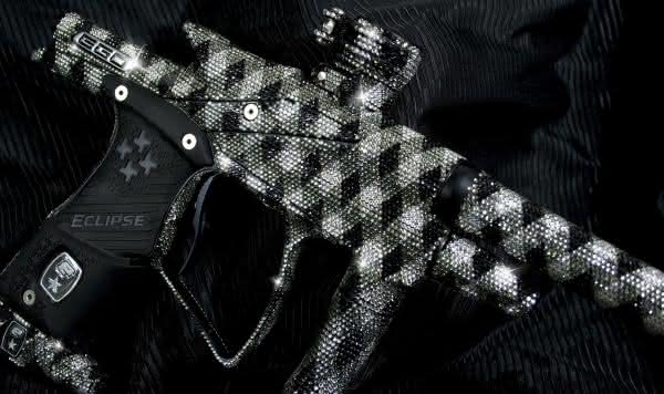 Crystal Bling Ego 09 entre as armas de paintball mais caras do mundo