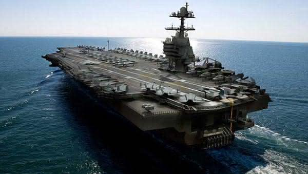 Gerald-Ford Class Carriers entre as maiores embarcacoes do mundo
