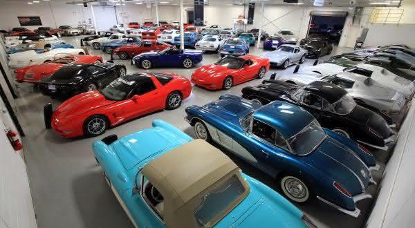 Ken Lingenfelter entre os maiores colecionadores de carros do mundo
