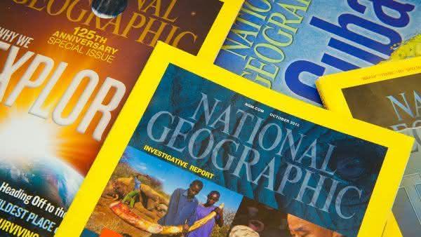 National Geographic entre as revistas mais vendidas do mundo