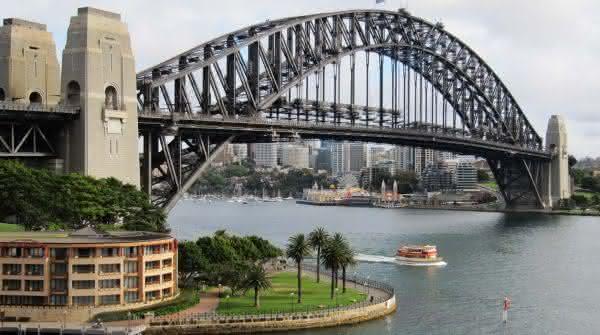 Ponte da Baia de Sydney entre as pontes mais famosas do mundo