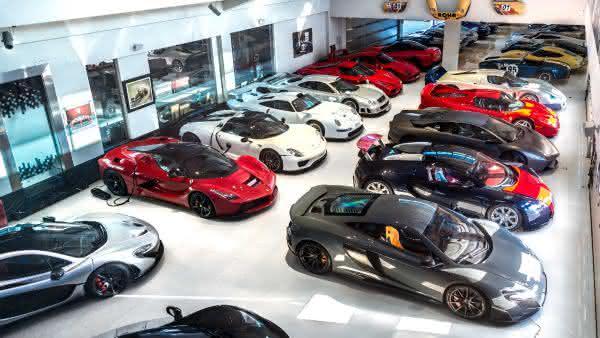 Sheikh Hamad Bin Hamdan Al Nahyan 2 entre os maiores colecionadores de carros do mundo